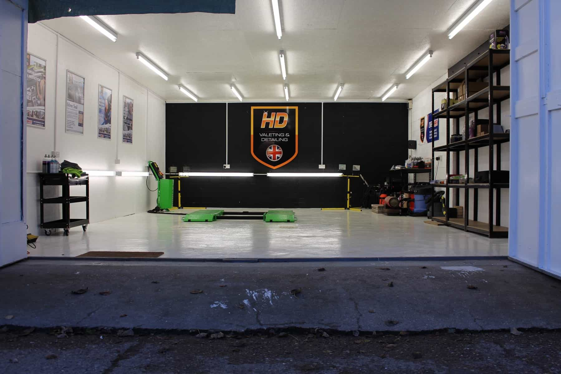 Purpose-built studio for Vehicle Detailing Norfolk