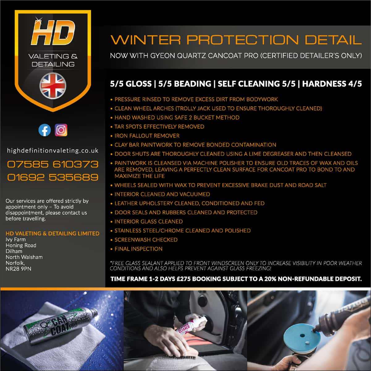 Winter Protection Detail