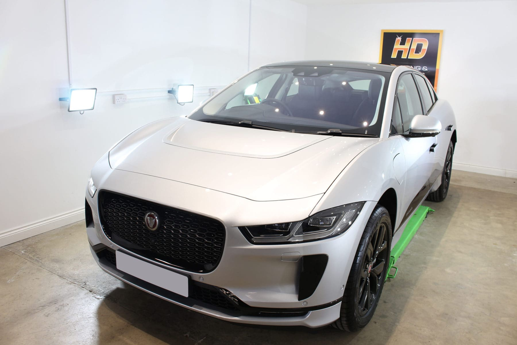 Jaguar I-PACE, HD Valeting & Detailing, Norfolk